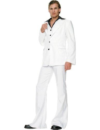 [Disco King Costume - Medium/Large - Chest Size 43] (Three Kings Costumes Make)