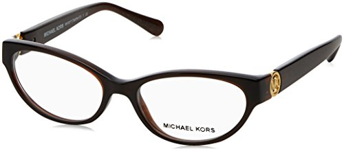 Michael Kors TABITHA VII MK8017 Eyeglass Frames 3103-50 - Dk Brown/dk Brown - Eyeglasses Michael Cat Eye Kors