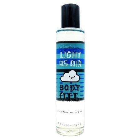 Bath & Body Works Light As Air Body Oil 6.3oz, Electric Blue ()