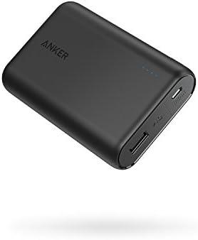 Anker PowerCore 10000 (10000mAh 最小最軽量 大容量 モバイルバッテリー)【PSE認証済/PowerIQ搭載】 iPhone&Android対応 *2019年10月時点 (ブラック)