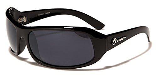 Oxigen - Lunettes de soleil - Homme Multicolore Glossy black/black lens n8NmbIQ