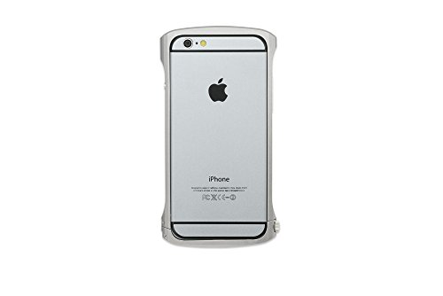 Cleave Aluminum Bumper Chrono Bumper for iPhone 6 (Silver)