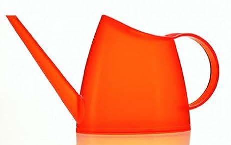 emsa fuchsia watering can transparent 15l orange