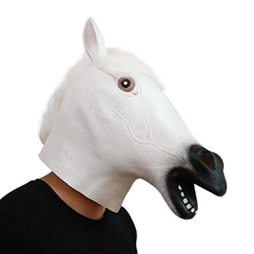 Children Toys,Dartphew 1Pcs Novelty White Horse head Whimsey
