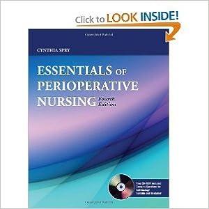 Download online Essentials Of Perioperative Nursing 4th (Fourth) Edition bySpry PDF, azw (Kindle), ePub