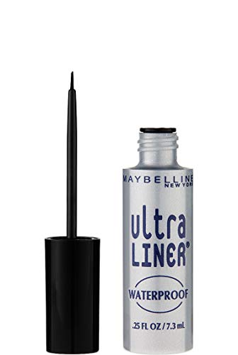 Maybelline New York Ultra-Liner Liquid Liner, Waterproof, Black 135L-01 , 0.25 fl oz (7.3 ml) ()
