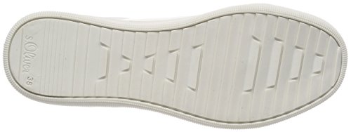 Femme Sneakers Basses 23624 white oliver S Blanc 0SqEwIPx
