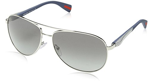 Prada Sunglasses 1BC-3M1 PS51OS Sunglasses, - Sunglasses Prada Aviator