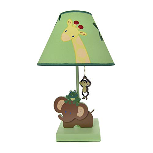NoJo Jungle Babies Lamp and ()