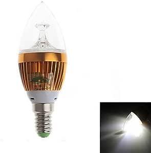 Leedfsw Zweihnder E14 3W 280LM 6000-6500K 3xLEDs White Light Candle Light (85-265V)