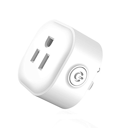 Maxcio Mini Smart Plug, No Hub Required, Wi-Fi, Control your Devices from Anywhere - Smart Timer Wireless Outlet - Compatible with Alexa and Google Home