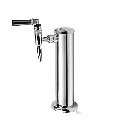 Stout Beer Faucet 304 Food Grade Stainless Steel - Nitrogen Draught and Nitro Coffee Faucet by Royal Brew by Royal Brew (Image #6)