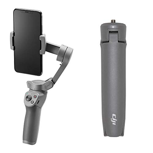 DJI OSMO Mobile 3 Combo Lightweight and Portable 3-Axis Handheld Gimbal Stabilizer Compatible with iPhone and Android Phones