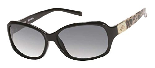 n's Sunglasses, Cheetah Black Frame/Gray Lens HDS5021-BLK-3 (Harley Davidson Prescription Sunglasses)