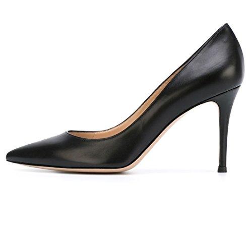 Escarpins Talon Noir Chaussures Grande Haut sexy Taille Femme Soireelady escarpins dwqxCd
