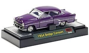 Dodge Coronet, lila , 1954, Modelo de Auto, modello completo, M2 Machines 1:64