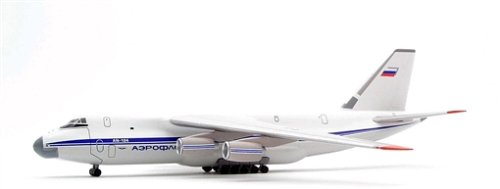 AN-124 アエロフロート航空 1/500ダイキャスト塗装済み完成品
