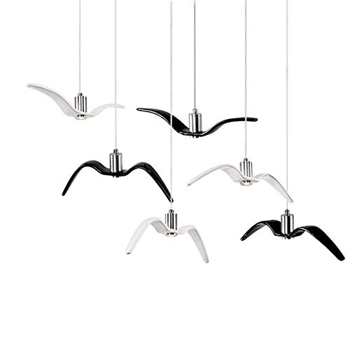 - Metcandy Seagull Chandelier Nordic Creative Personality Designer Hotel/Club / Bar/Cafe / Restaurant/Bar / Clothing Store Lamp, White