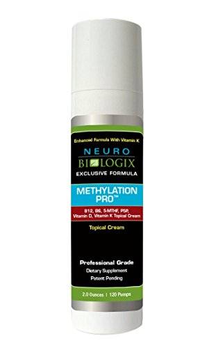 Neurobiologix Methylation Pro Topical with Vitamin K Methylation Supplement 2 Ounces (120 Pumps)