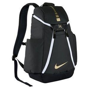 Nike Hoops Elite Max Air Team 2.0 Basketball Backpack Anthracite/Black/Metallic Gold