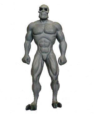 Kidrobot Adult Swim Series 1 Figure - Killface From Frisky Dingo