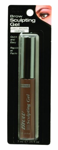 Ardell Brow Sculpting Gel, Light Brown, 0.25-Ounce (Pack of 3) (Packaging may (Ardell Sculpting Gel)