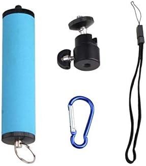 MEETBM ZIMO,LED Flash Light Holder Sponge Steadicam Handheld Monopod with Gimbal for SLR Camera Orange Color : Green
