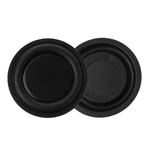 - SimpleLif 40mm Speaker Vibration Membrane-Passive Radiator Subwoofer Bass Rubber Woofers