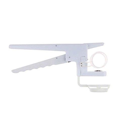 SODIAL(R) Egg Cracker Handheld York & White Separator On TV Kitchen Gadget Tool Helper New TRTA11A