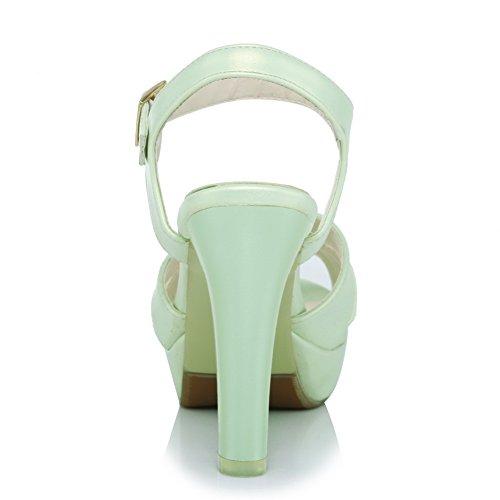 5 Aimint Vert Bout Femme 36 Green Ouvert EYR00277 0BqwR