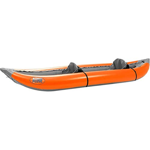 AIRE Outfitter II Inflatable Kayak-Orange (Duckie Rocker)