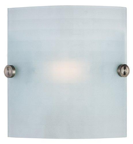 - Access Lighting 62054-BS/CKF Radon Wall Sconce Fixture, Brushed