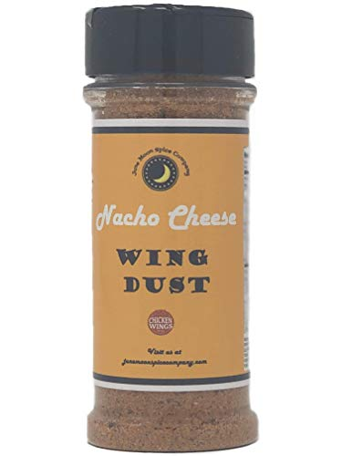 Premium | NACHO CHEESE Wing Seasoning Dry Rub Dust | Large Shaker | CRAFTED in Small Batches with Farm Fresh SPICES for Premium Flavor and Zest (The Best Nacho Cheese Recipe)