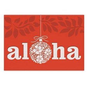 fancy supreme boxed hawaii christmas cards ornament of aloha - Fancy Christmas Cards
