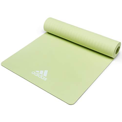 adidas Colchonetas de Yoga-5mm-Verde, Unisex-Adult, Verde, 8 ...