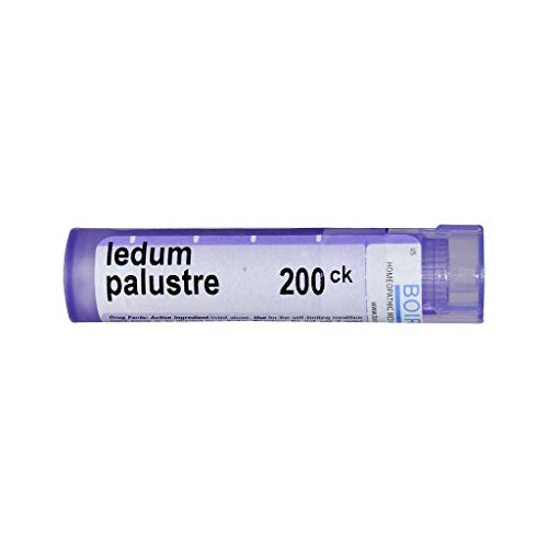 Boiron Ledum Palustre 200CK, 80 Pellets, Homeopathic Medicine for Insect Bites