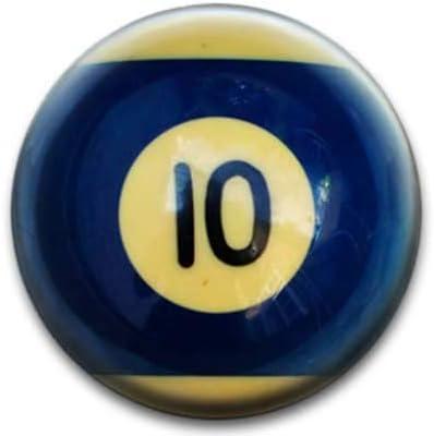 Bolas de billar número 10 Badge: Amazon.es: Hogar