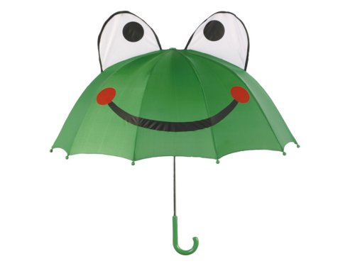 Kidorable Little Boys' Frog Umbrella, Green, One Size