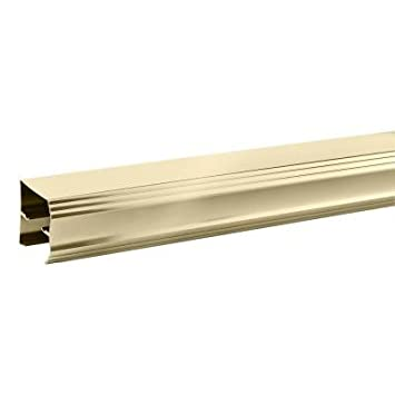 delta 60 in sliding shower door track in polished brass - Delta Shower Doors