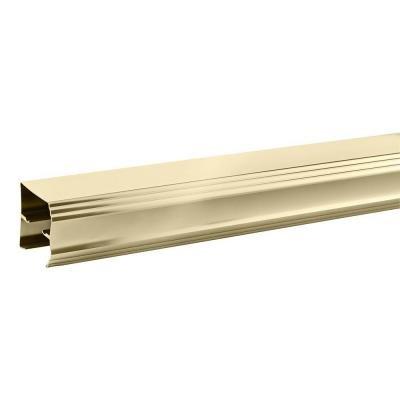 polished brass shower doors - 1