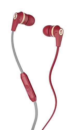 Skullcandy Ink d 2.0 Micd Ill Famed Red Cream in-Ear Headphones S2IKHY-481