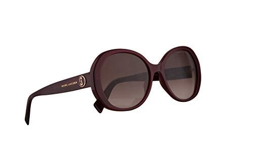 Red Marc Jacobs Sunglasses - Marc Jacobs Marc 377/S Sunglasses Burgundy