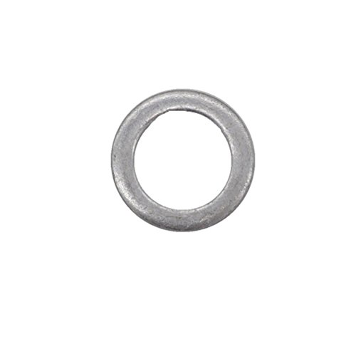 10 Pcs Aluminum Oil Drain Plug Gasket Crush Washers Seal for Mazda, Replacement for The Part # 9956-41-400, Used for Oil Change (Replacement Crush Washer)