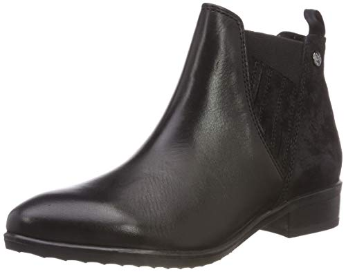 21 Caprice 25326 Boots Black Comb 19 Black 019 Women's 9 Chelsea 9 trIq0IO