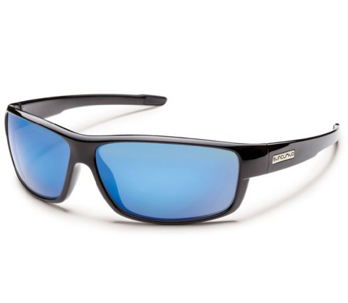 Suncloud Polarized Optics Voucher Sunglasses - Polarized Black/Blue Mirror, One - Shop Voucher Sunglasses