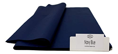 Navy Blue 48 Sheets - Gift Wrapping Tissue Paper 20