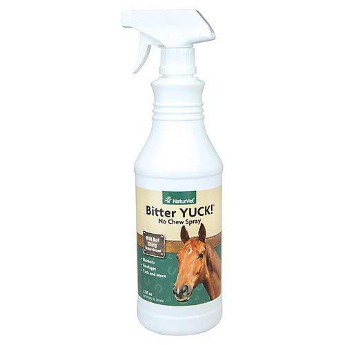 NaturVet Bitter Yuck! No Chew Trigger Spray for Horse, 32-Ounce