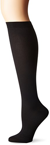 Dr. Scholl's Women's Light Compression Knee Hi Sock, Black, 4-10 (Dr Scholls Compression Socks)