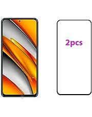 Glass Screen Protector For Xiaomi Poco F3 - 2PCS - Black