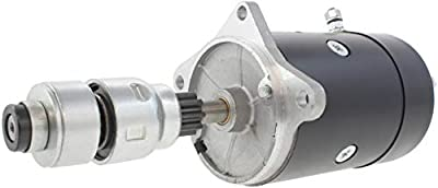 New Starter for Ford Ag Tractors 501 601 640 641 651 660 681 701 740 801 841 850 851 860 901 960 New Holland 4030 4031 4040 4130 4131 4140 1954-1968 Ford Truck F-100 F-250 F-350 3.9L 54-1955 B5C11002A